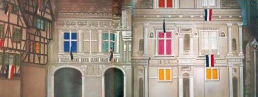 Kulissen mieten & vermieten - Frankreich Altstadt Kulisse, Kulisse, Altstadt, Frankreich, Paris, France, französisch, Dekoration, Häuserkulisse, Haus in Kamp-Bornhofen