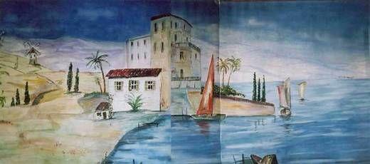 Kulissen mieten & vermieten - Spanien Mediterran Kulissen, Spanien, Mediterran, Kulisse, Italien, Strand, Meer, Küste, Segelboot, Strandhaus in Kamp-Bornhofen