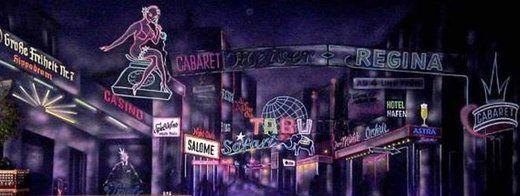Kulissen mieten & vermieten - St. Pauli Kulisse, St. Pauli, Kulisse, Nachtleben, Night Life, Rotlichtviertel, Rotlicht, Casino, Vergnügungsviertel in Kamp-Bornhofen