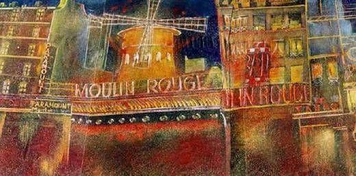 Kulissen mieten & vermieten - Frankreich Moulin Rouge Kulisse, Frankreich, Kulisse, France, französisch, Moulin Rouge, Paris, Dekoration, Rote Mühle in Kamp-Bornhofen