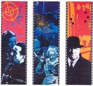 Kulissen mieten & vermieten - Agatha Christie & Sherlock Holmes Motivbanner, Sherlock Holmes, Agatha Christie, Kulisse, Hollywood, Film, Kino, Movie in Kamp-Bornhofen