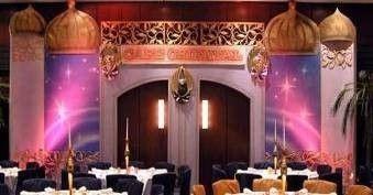 Kulissen mieten & vermieten - Orientalisches Cafe Kulisse, Orient, orientalisch, Ägyptisch, Ägypten, Cafe, 1001 Nacht, Mauer, Maurisch, Tor, Tür in Lahnstein