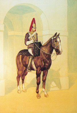 Kulissen mieten & vermieten - England Palastwachen Kulisse, Kulisse, England, Englisch, Britisch, Palastwache auf Pferd, Pferd, Reiter, Palastwache in Kamp-Bornhofen