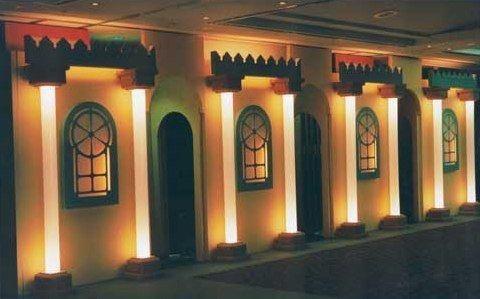 Kulissen mieten & vermieten - Maurische Palastwand, Maurisch, Orient, orientalisch, 1001 Nacht, Palastwand, Palast, Arabisch, Arabien, Kulisse, Wand in Lahnstein