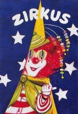 Kulissen mieten & vermieten - Zirkus Clown Kulisse, Zirkus, Clown, Cirkus, Spaß, Unterhaltung, Manege, Kulisse, Dekoration, Event, Messe in Lahnstein
