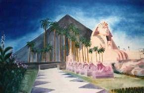 Kulissen mieten & vermieten - Hotel Luxor Kulisse, Hotel Luxor, Kulisse, Dekoration, Ägypten, ägyptisch, Sphinx, Pyramide, Hotel, Afrika, Event in Lahnstein