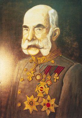 Kulissen mieten & vermieten - Österreich Kaiser Franz Kulisse, Österreich, Austria, Kaiser Franz, Franz, Kaiser, Kaiser Portrait, Portrait, Kulisse in Kamp-Bornhofen