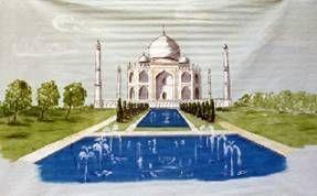 Kulissen mieten & vermieten - Indien Taj Mahal Kulisse, Indien, Taj Mahal, Kulisse, Tempel, Tempelkulisse, indischer Tempel, Dekoration, Event, Messe in Lahnstein