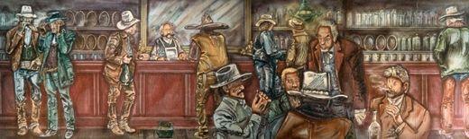 Kulissen mieten & vermieten - Western Saloon Kulisse, Western, Kulisse, Saloon, Bar, Wilder Westen, Cowboys, Dekoration, Event, Messe, Veranstaltung in Lahnstein