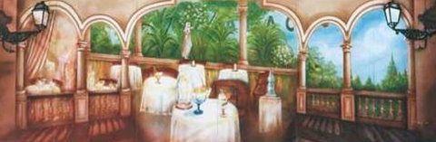 Kulissen mieten & vermieten - Spanische Restaurant Kulisse, Restaurant, Spanisch, Spanien, Kulisse, Restaurantkulisse, Speisesaal, Speiseraum in Lahnstein