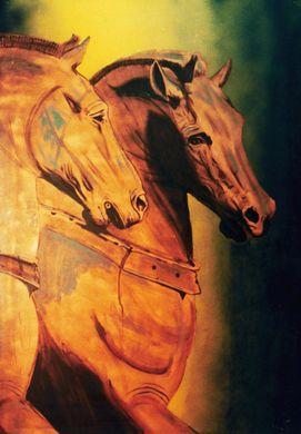 Kulissen mieten & vermieten - Venedig Pferde Kulisse, venezianisch, Venedig, Pferde, Kulisse, Italien, italienisch, Dekoration, Event, Messe in Lahnstein
