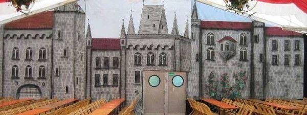 Kulissen mieten & vermieten - Burg Kulisse, Burg, Kulisse, Schloss, Schlosskulisse, Burgmauer, Mauer, Gemäuer, Schlossmauer, Event, Messe in Lahnstein