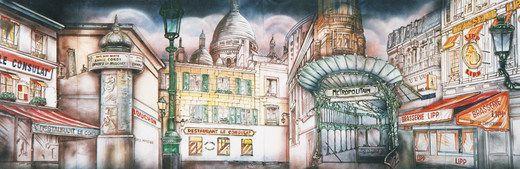 Kulissen mieten & vermieten - Frankreich Metropolitan Kulisse, Frankreich, Metropolitan, Metropole, Französisch, France, Kulisse, Dekoration, Stadt in Lahnstein
