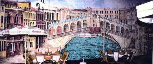 Kulissen mieten & vermieten - Rialtobrücken Kulisse, Kulisse, Brücke, Venedig, Dekoration, Italien, Adria, Rialto, italienisch, Event, Messe in Lahnstein