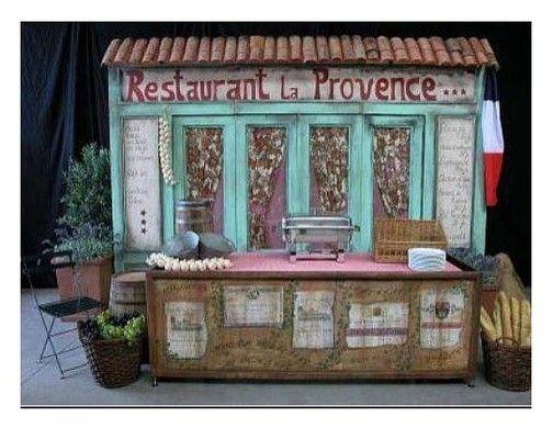 Kulissen mieten & vermieten - Provence Hausfassaden, Hausfassade, Provence, Frankreich, France, französisch, Paris, mediterran, Hauswand, Fassade in Kamp-Bornhofen
