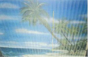 Kulissen mieten & vermieten - Copacabana Kulissen, Strand, Beach, Karibik, Sonnenuntergang, Brasilien, Strandkulisse, Palmen, Rio, Rio de Janeiro in Kamp-Bornhofen