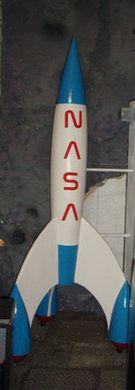 Dekofiguren mieten & vermieten - Weltraum Rakete, Rakete, Weltraum, Weltall, All, Raumfahrt, Raumschiff, Mondlandung, Astronaut, NASA, Dekoration, Event in Kamp-Bornhofen