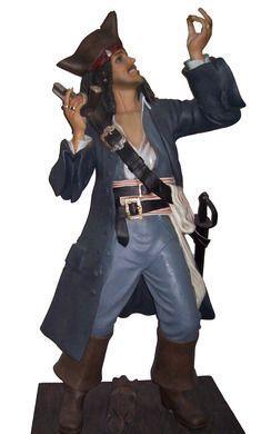 Dekofiguren mieten & vermieten - Pirat Figur, Pirat, Piratenkapitän, Kapitän, Käpt'n, Figur, Dekoration, Freibeuter, Jack Sparrow, Fluch der Karibik in Lahnstein