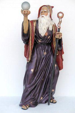 Dekofiguren mieten & vermieten - Märchen Zauberer Figur, Zauberer, Figur, Märchen, Zauberer von Oz, Dekoration, Merlin, Sage, Zaubern, Event, Messe in Lahnstein