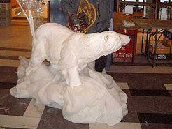 Dekofiguren mieten & vermieten - Eisbär Figuren, Eisbär, Figur, Eis, Polarbär, Schnee, Nordpol, Pol, Polar, Eskimo, Inuit, Dekoration, Winter, Event in Lahnstein