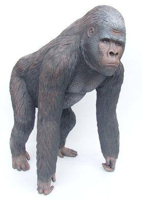 Dekofiguren mieten & vermieten - Gorilla Figur, Figur, Gorilla, Affe, Dschungel, Dschungeltier, Tier, Dekoration,  Event, Messe, Veranstaltung, leihen in Kamp-Bornhofen
