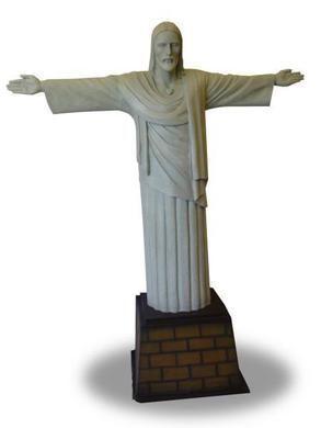Dekofiguren mieten & vermieten - Corcovado,Brasilien, Statue, Jesus, Wahrzeichen,Brasilien Dekoration,Brasilien Deko,Besucher Magnet,Berg,Dekoration in Lahnstein