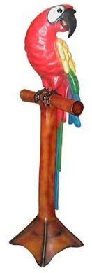 Dekofiguren mieten & vermieten - Papagei Figur, Papagei, Vogel, Tropen, Tropenvogel, Karibik, Dschungel, Figur, Tier, Dekoration, Event, Messe in Lahnstein