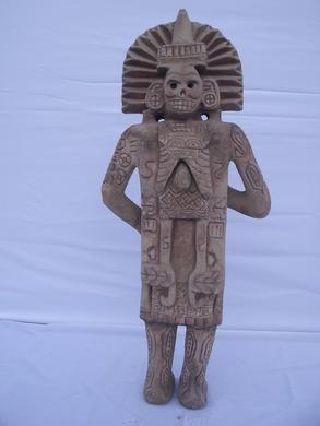 Dekofiguren mieten & vermieten - Maya Figur, Azteken Figur, Azteken, Mayas, Ureinwohner, Südamerika, Maya, Figur, Dekoration, Event, Messe in Lahnstein