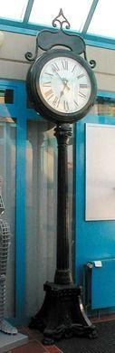 Dekofiguren mieten & vermieten - Standuhr, Uhr, Parkuhr, Gussuhr, Dekoration, Event, Messe, Veranstaltung, leihen, mieten, Leihartikel in Kamp-Bornhofen