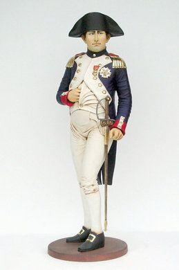 Dekofiguren mieten & vermieten - Napoleon Figur, Napoleon Bonaparte, Frankreich, Paris, Revolution, Bastille, Feldherr, französisch, General, Kaiser in Lahnstein