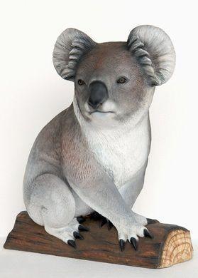 Dekofiguren mieten & vermieten - Koala Figur, Koala, Figur, Koalabär, Koalabaer, Tier, Wildtier, Australien, Zoo, Aschgrauer Beutelbär, Beutelbär in Kamp-Bornhofen