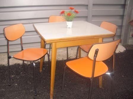 50er Jahre Küchen Sitzgarnitur, 50er Jahre, Küche ...