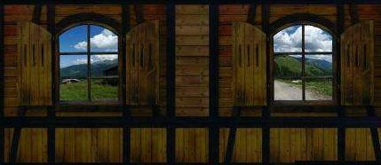 Dekorationsservice mieten & vermieten - Almhütte Innenansicht Kulisse, Alm, Alpen, Hütte, Alpenhütte, Skihütte, Bayern, Ski, Kulisse, Event, Messe in Lahnstein