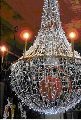 Dekorationsservice mieten & vermieten - Kronleuchter, Leuchter, Lampe, Barock, Deckenleuchte, Deckenlampe, Licht, Beleuchtung, Dekoration, Event, Messe in Lahnstein
