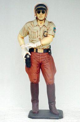 Dekorationsservice mieten & vermieten - Amerika Polizei Figur, Cop, Amerika, Polizei, Amerika Cop, Polizist, amerikanisch, Figur, Police, Policeman, Event in Lahnstein