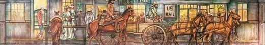 Dekorationsservice mieten & vermieten - Amerika Musikhall Kulisse, Amerika, Kulisse, USA, Musikhall, Pferdekulisse, Pferdekutsche, Kutsche, Event, Messe in Kamp-Bornhofen
