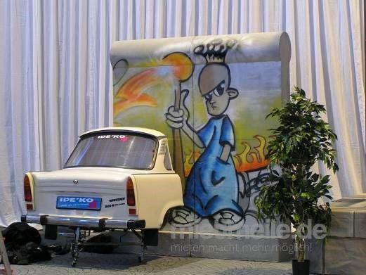 Dekorationsservice mieten & vermieten - Berlin Trabbi Heck, Trabbi, Trabant, Berlin, Ostdeutschland, Heck, Autoheck, Auto, DDR, Event, Messe, Veranstaltung in Lahnstein