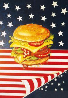 Dekorationsservice mieten & vermieten - Amerika Burger Kulisse, USA, Burger, Burgerkulisse, Amerika, USA Kulisse, Essen, Restaurant, Event, Messe in Lahnstein