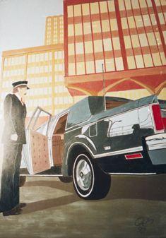 Dekorationsservice mieten & vermieten - Amerika Cadillac Kulisse, Kulisse, Amerika, Cadillac, Auto, Oldie, Oldtimerkulisse, Oldtimer, Event, Messe in Kamp-Bornhofen