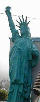 Dekorationsservice mieten & vermieten - Amerika Liberty Figur XXL, Liberty, Figur, Freiheitsstatue, USA, Amerika, Wahrzeichen, New York, XXL, Event, Messe in Lahnstein