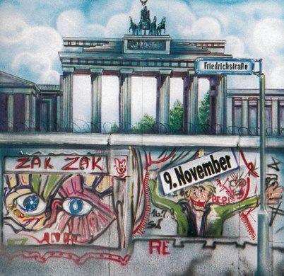 Dekorationsservice mieten & vermieten - Berlin Fall der Mauer Kulisse, Kulisse, Berlin, Mauerfall, Wiedervereinigung, Berliner Mauer, Westberlin, Ostberlin in Lahnstein