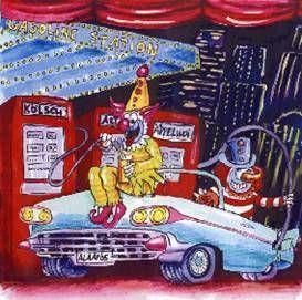 Dekorationsservice mieten & vermieten - Karneval Gasoline Kulisse, Kulisse, Gasoline, Karneval, Carneval, Fasching, Fassnacht, Fassenacht, Tankstelle in Kamp-Bornhofen
