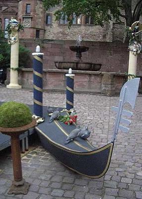 Dekorationsservice mieten & vermieten - Venedig Gondelspitze, Gondel, Venedig, venezianisch, Gondelspitze, Gondoliere, Dekoration, Boot, Italien, italienisch in Lahnstein