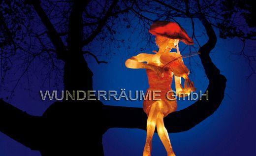 Dekofiguren mieten & vermieten - LICHTORCHESTER 9 verschiedene Figuren! WUNDERRÄUME GmbH vermietet:  in Lichtenstein/Sachsen