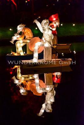 Dekofiguren mieten & vermieten - Lichtfiguren - WUNDERRÄUME GmbH vermietet: Dekoration/Kulisse für Event, Messe, Veranstaltung, Incentive, Mitarbeiterfest, Firmenjubiläum in Lichtenstein/Sachsen