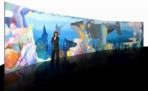 Dekoration mieten & vermieten - Prospekt  Unterwasserwelt  - WUNDERRÄUME GMBH vermietet: Dekoration/Kulisse für Event, Messe, Veranstaltung, Incentive, Mitarbeiterfest, Firmenjubiläum in Lichtenstein/Sachsen