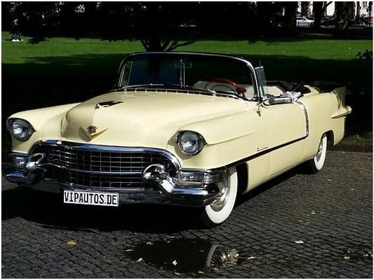 Oldtimer mieten & vermieten - Cadillac Eldorado Flossen-Cabriolet Oldtimer in Hannover