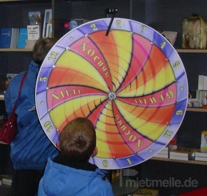 "Glücksrad mieten & vermieten - Glücksrad, Modell ""Spirale"" inkl. 19% MwSt. in Münnerstadt"