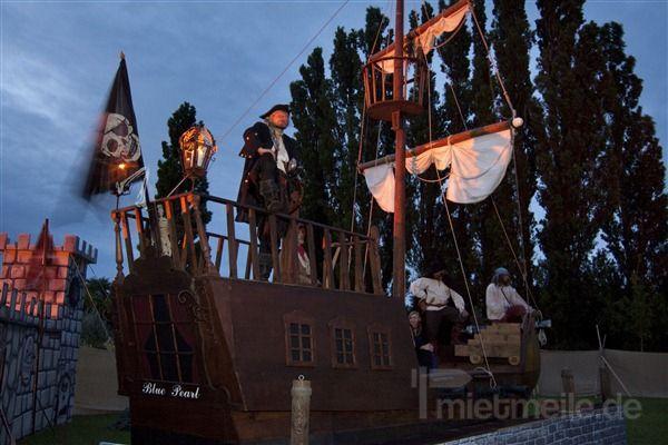 Kulissen mieten & vermieten - Piraten Spektakel - Piratenlager in Heringsdorf