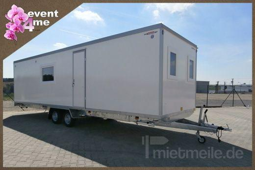 Büro-Container mieten & vermieten - Mobile Mannschaftswagen mieten in Mannheim
